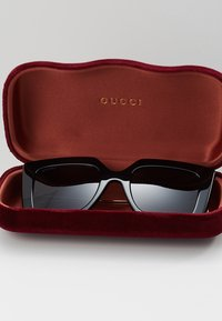 Gucci - Sonnenbrille - black/gold-coloured/grey - 2