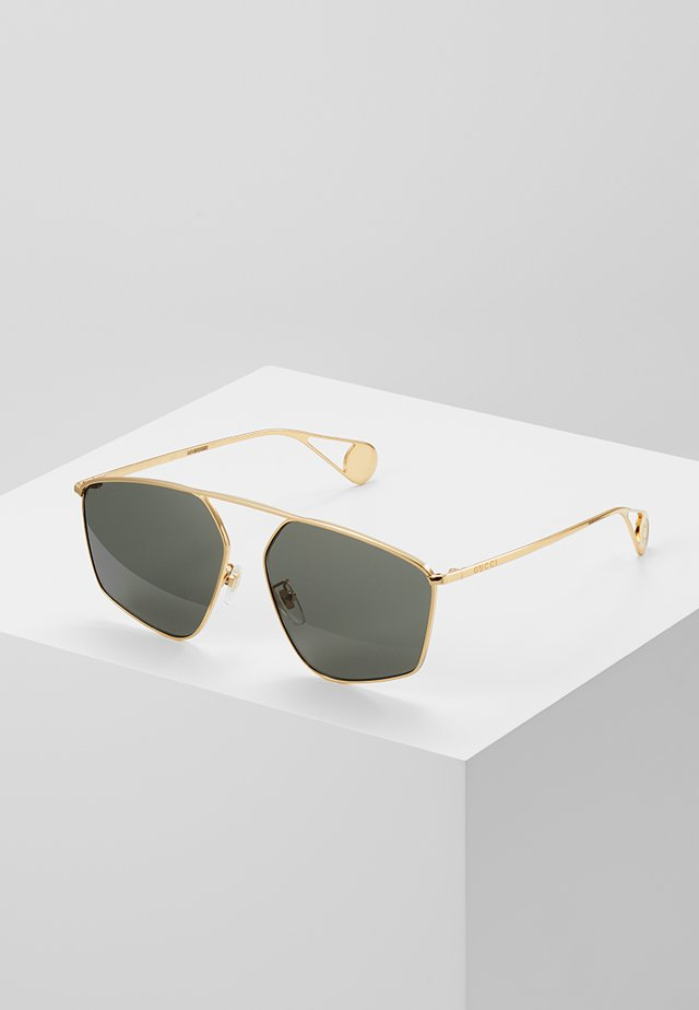 Sonnenbrille - gold-coloured/grey