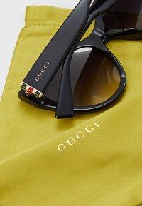 Gucci - Sonnenbrille - black/gold-coloured/grey - 4