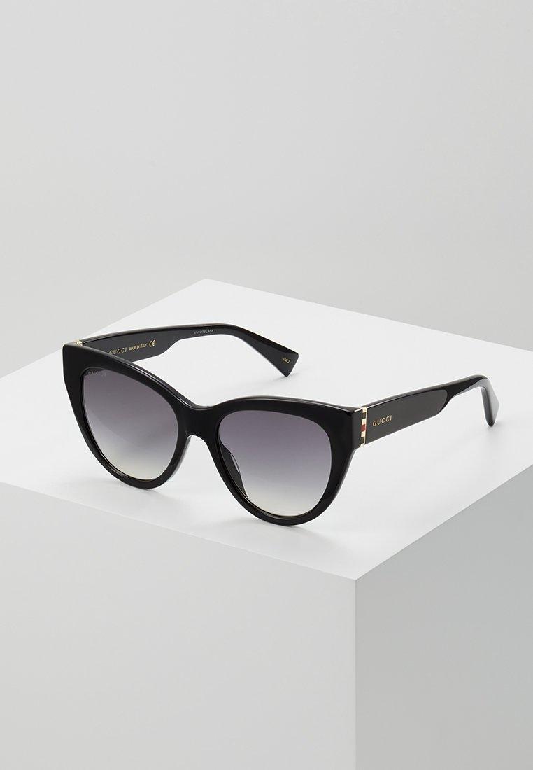 Gucci - Sonnenbrille - black/gold-coloured/grey