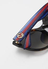 Gucci - Sonnenbrille - havana/blue/brown - 4