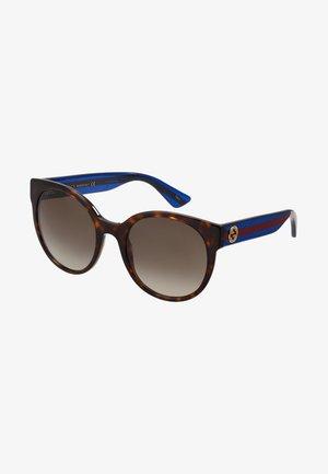 Solbriller - havana/blue/brown