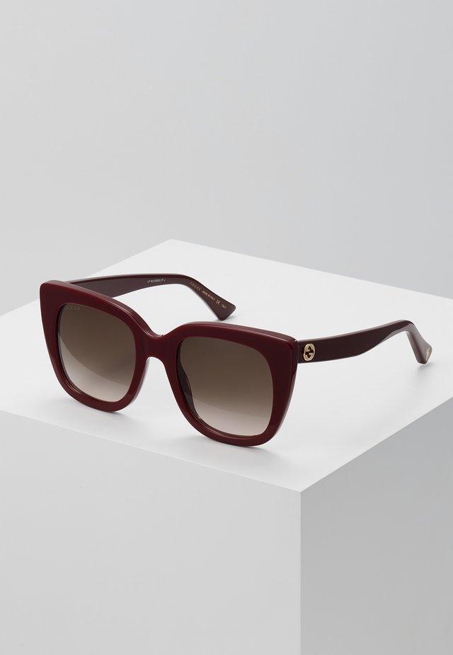 Aurinkolasit - burgundy/brown
