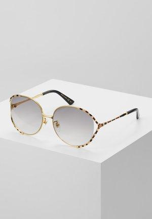 Sonnenbrille - gold/grey