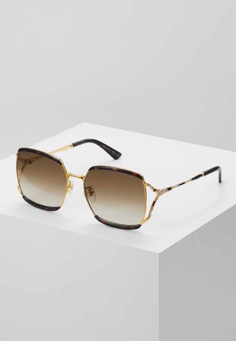 Gucci - Sonnenbrille - havana/gold