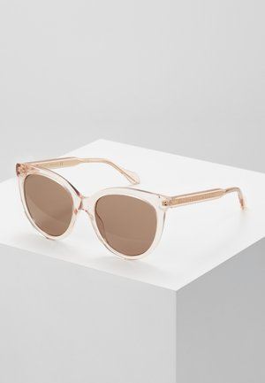 Sonnenbrille - pink/brown