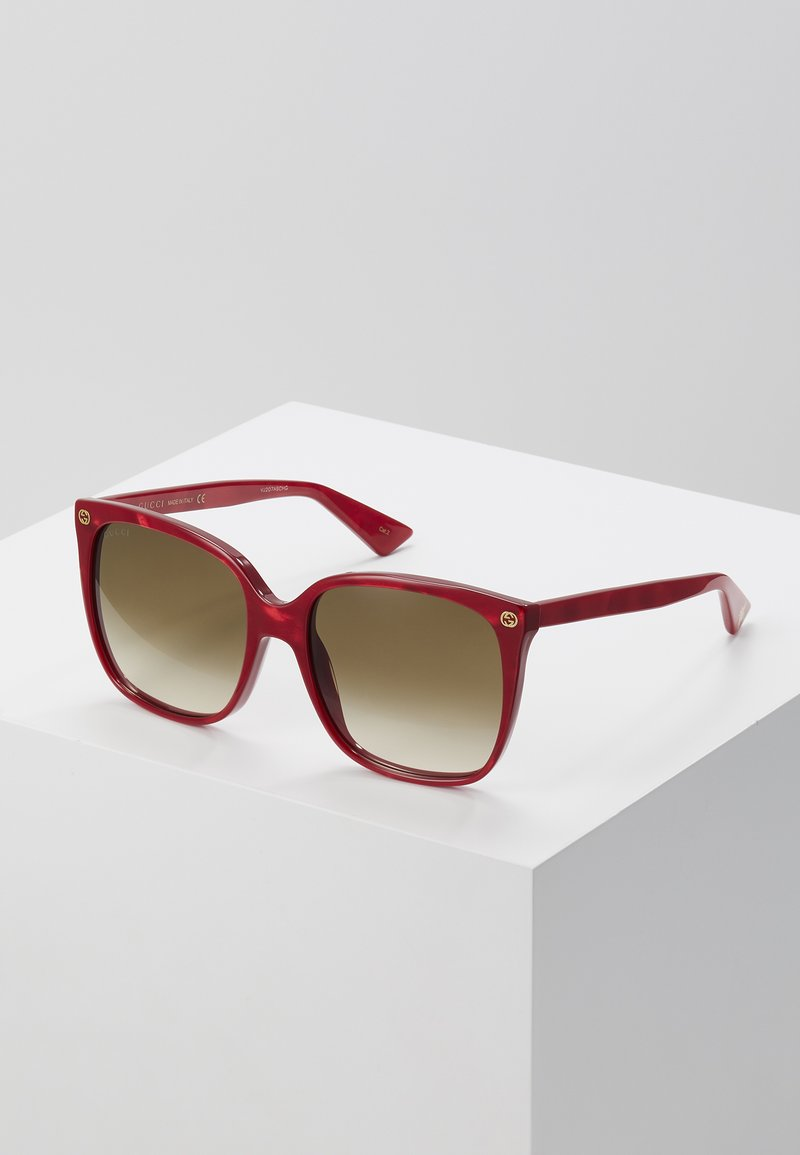 Gucci - Solbriller - red/brown
