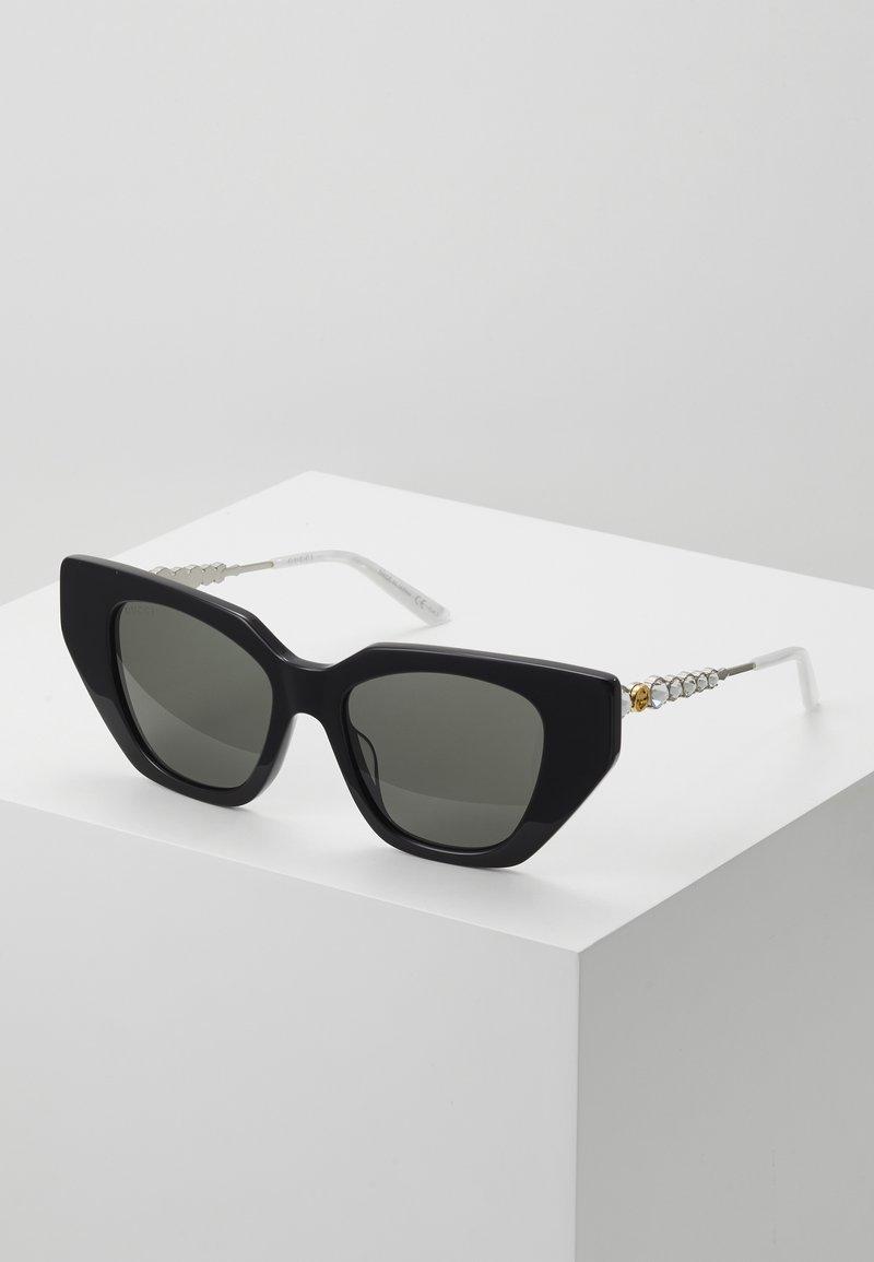 Gucci - Sunglasses - black/silver/grey