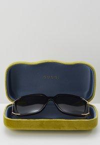 Gucci - Sunglasses - black/gold/grey - 3