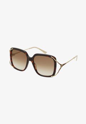 Sonnenbrille - havana/gold-coloured/brown