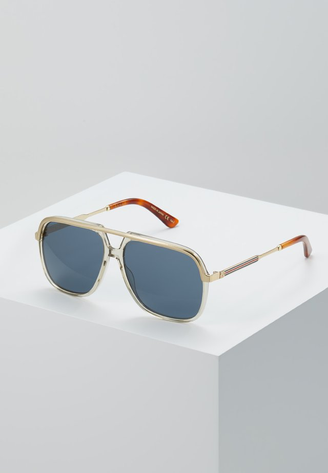 Sunglasses - brown/gold-coloured/blue