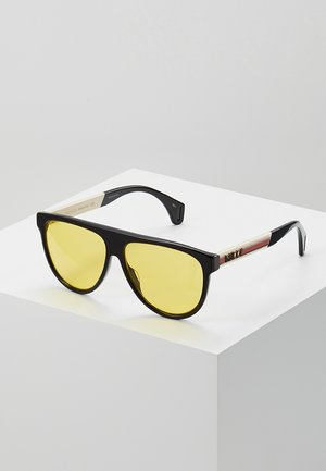 Sunglasses - black/white/yellow