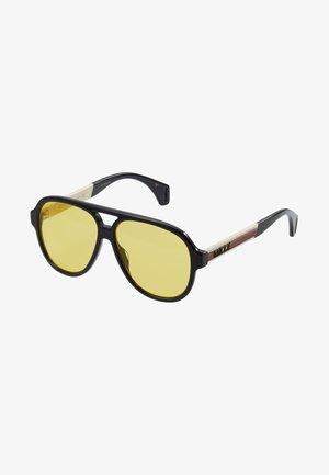 Sluneční brýle - black/white/gold-coloured