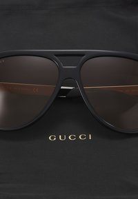 Gucci - Sunglasses - black/yellow/brown - 2