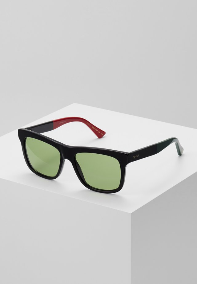 Sonnenbrille - black/green