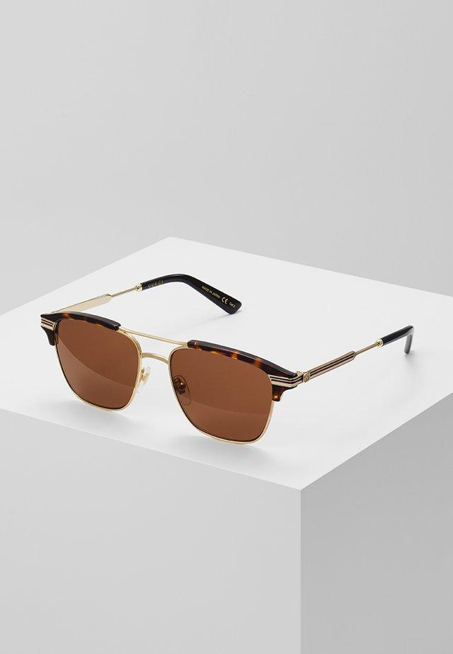 Okulary przeciwsłoneczne - gold-coloured/brown
