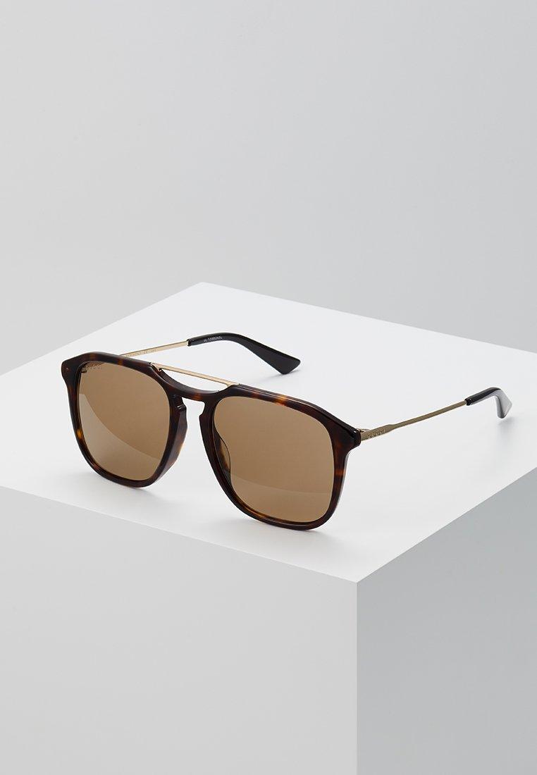 Gucci - Sunglasses - havana/gold/brown