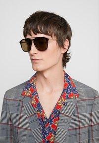 Gucci - Sunglasses - havana/gold/brown - 1