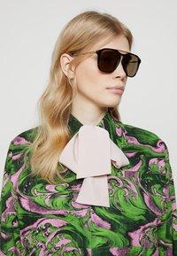 Gucci - Sunglasses - havana/gold/brown - 3