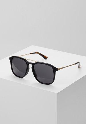 Sunglasses - black/gold/grey