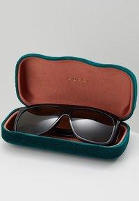 Gucci - Sunglasses - black/green - 2