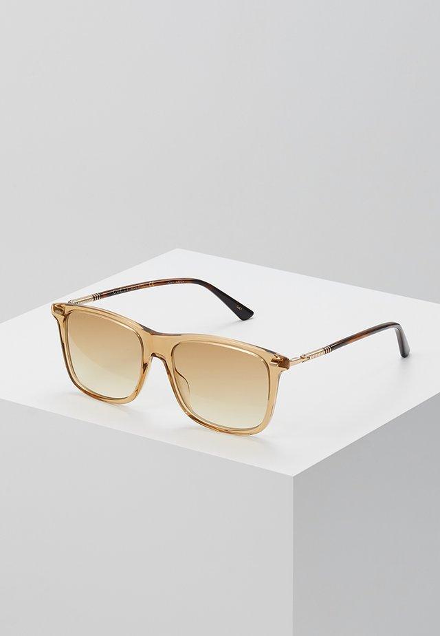 Solbriller - brown/gold-coloured