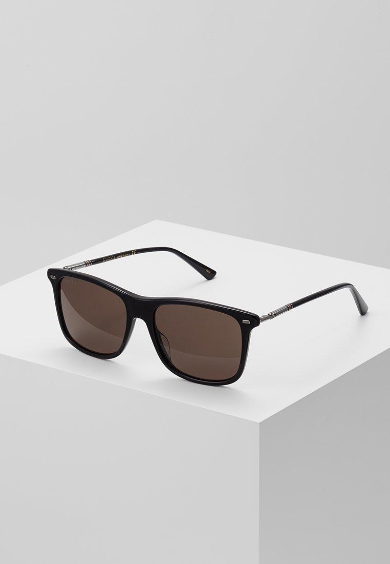 Gucci - Sonnenbrille - black/ruthenium/grey