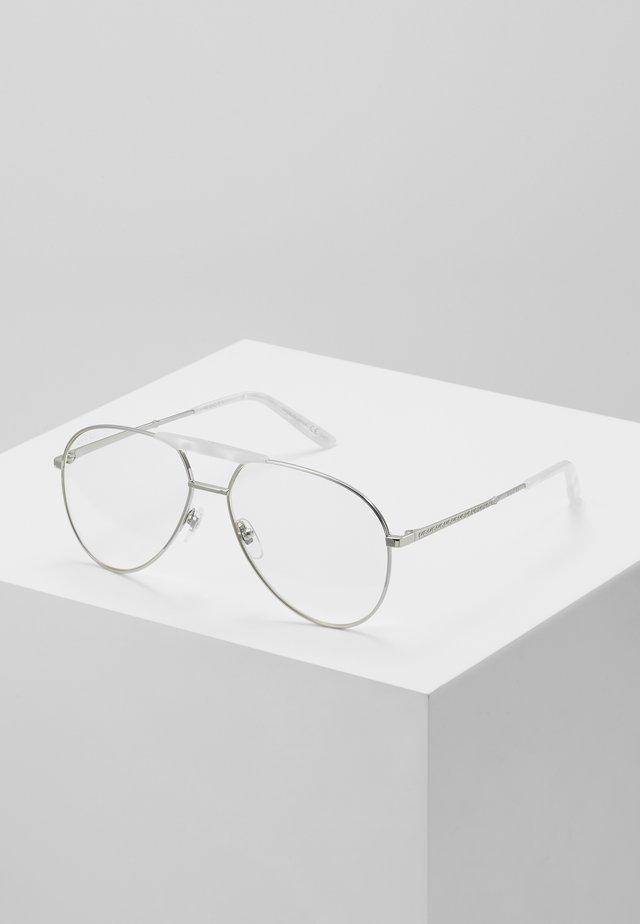 Solbriller - silver/transparent