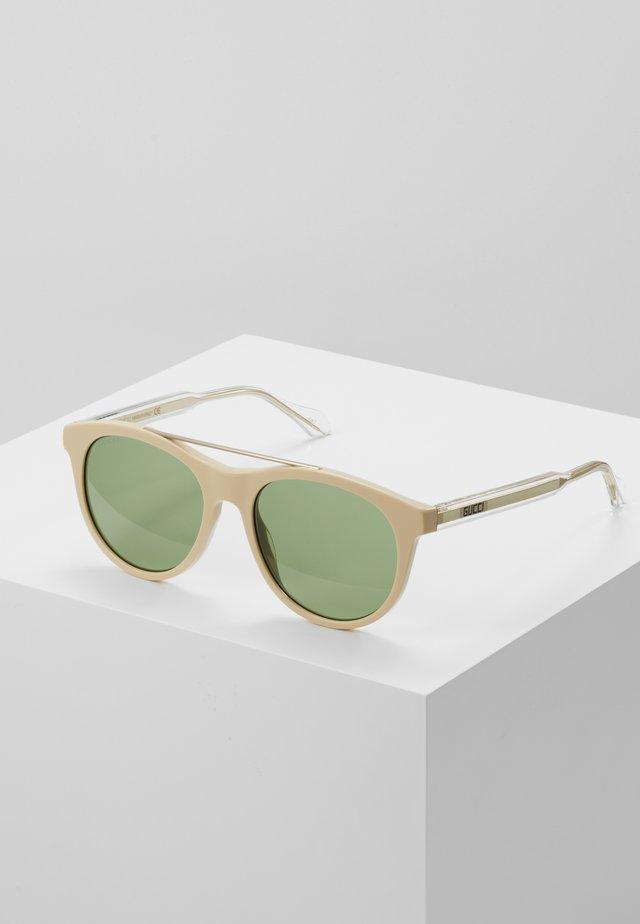 Sunglasses - ivory/crystal green