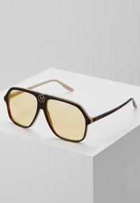 Gucci - Okulary przeciwsłoneczne - havana-orange - 0