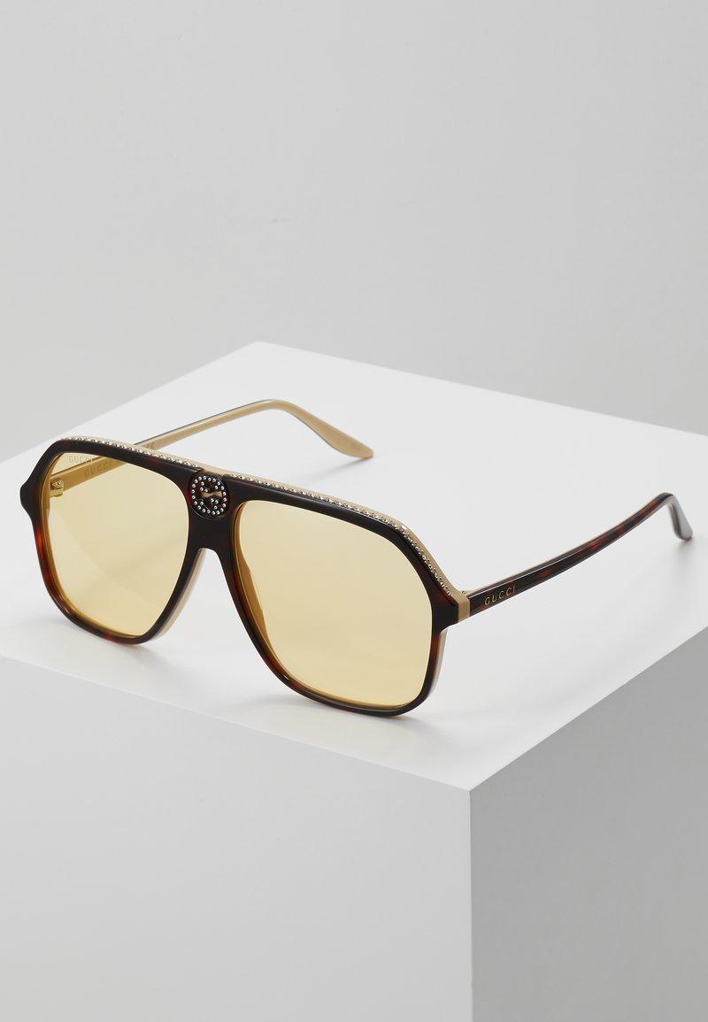 Gucci - Okulary przeciwsłoneczne - havana-orange