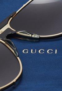 Gucci - Sunglasses - gold-coloured/brown - 2