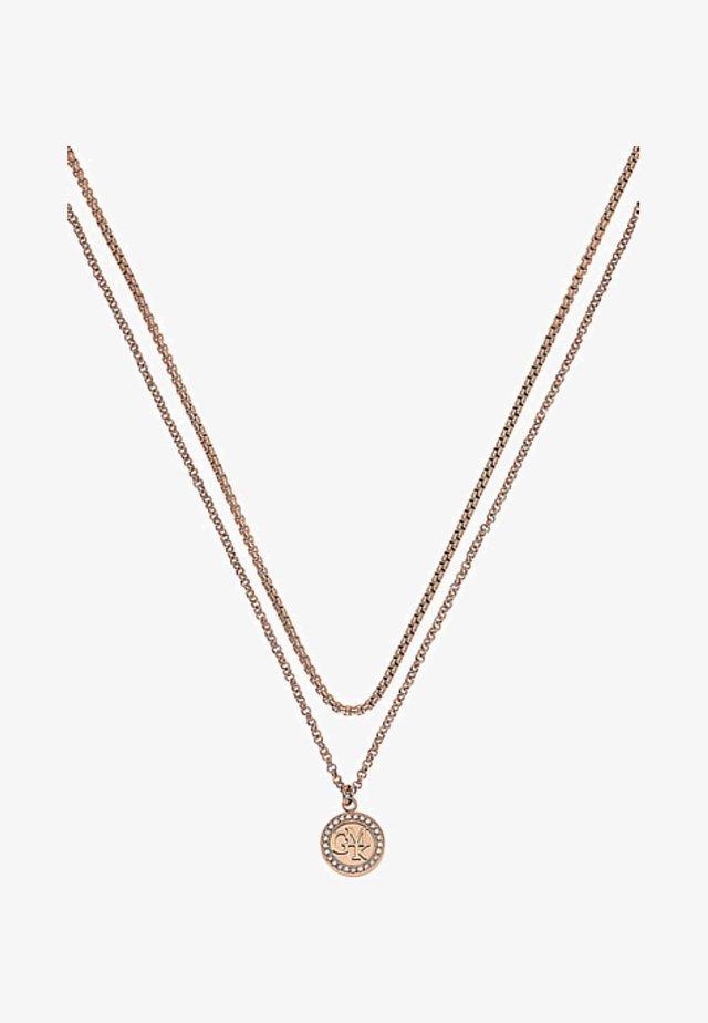 Halskette - rose gold