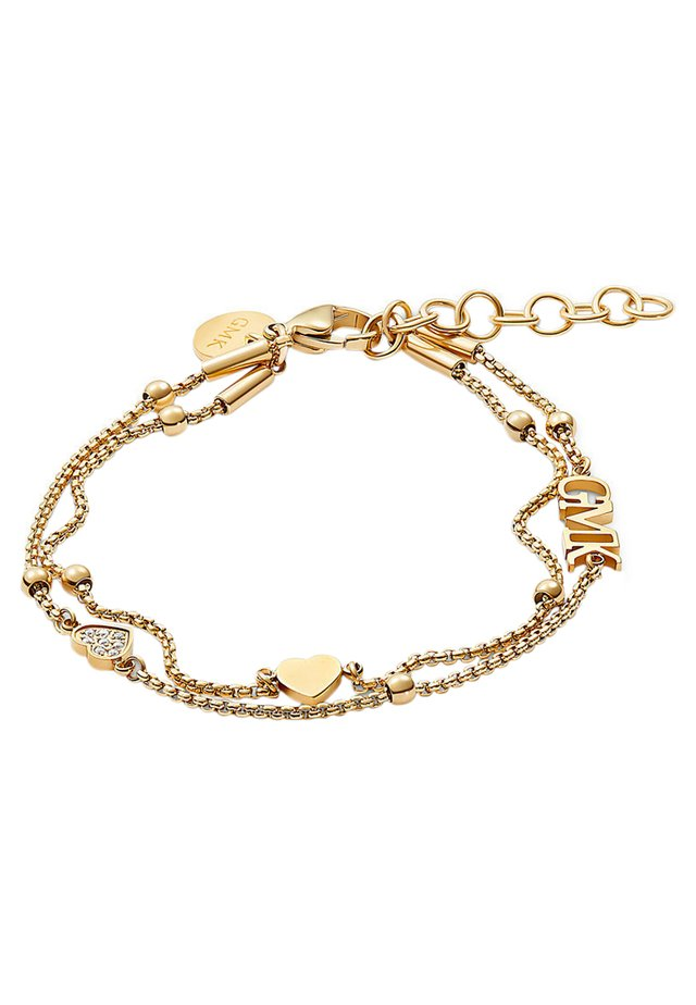 GMK COLLECTION DAMEN-ARMBAND VALENTINE COLLECTION EDELSTAHL 8 ZI - Armband - gold