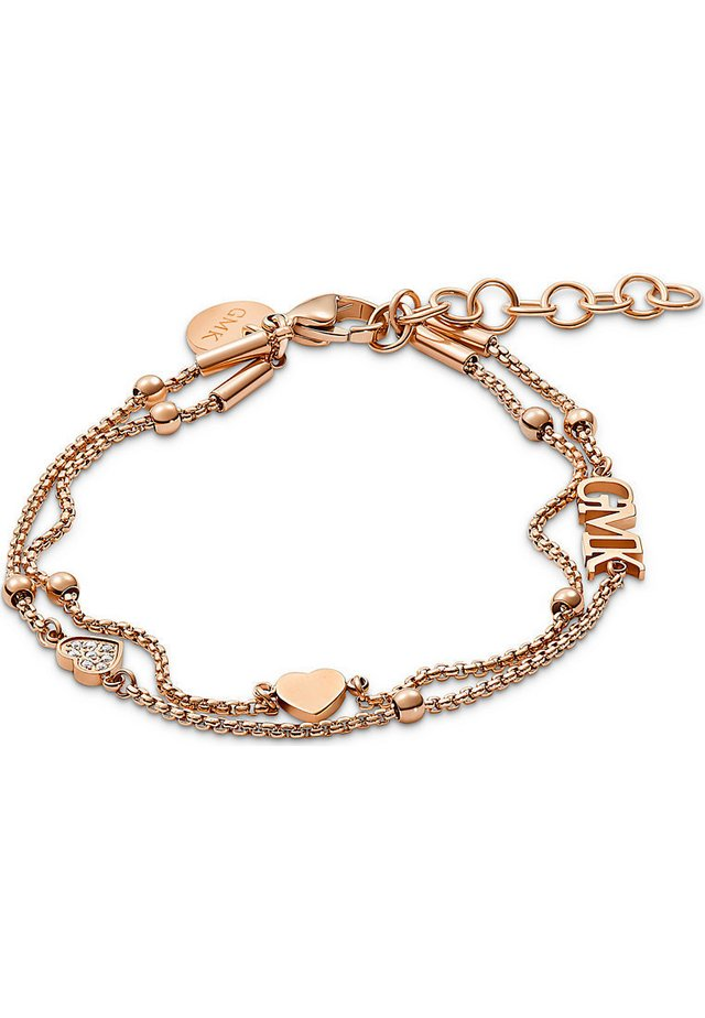 GMK COLLECTION DAMEN-ARMBAND VALENTINE COLLECTION EDELSTAHL 8 ZI - Armband - rosé