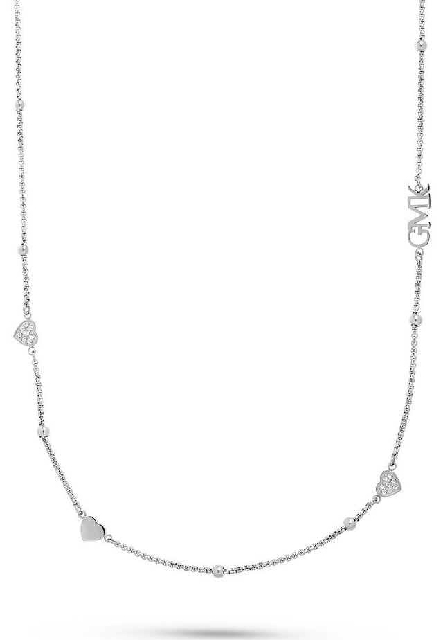 GMK COLLECTION DAMEN-KETTE VALENTINE COLLECTION EDELSTAHL 40 ZIR - Necklace - silber