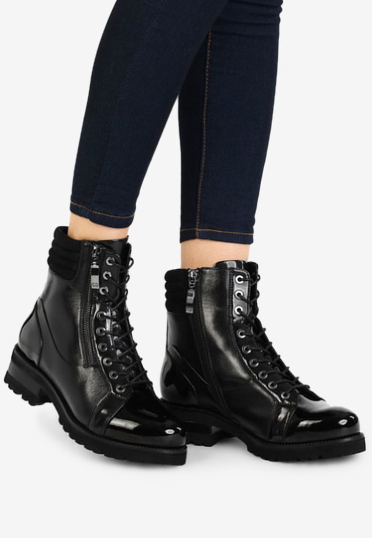 Gerry Weber - Lace-up ankle boots - black