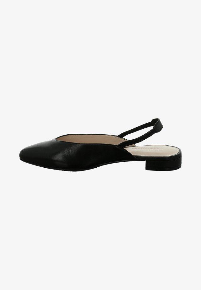 ATHEN  - Slingback ballet pumps - schwarz