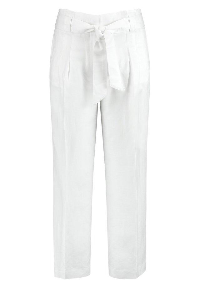 Stoffhose - weiß/weiß