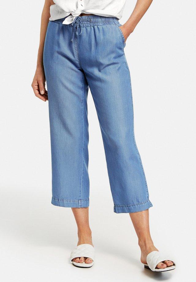Trousers - blau mit use