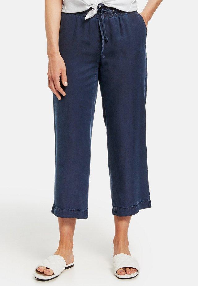 Trousers - dark blue denim