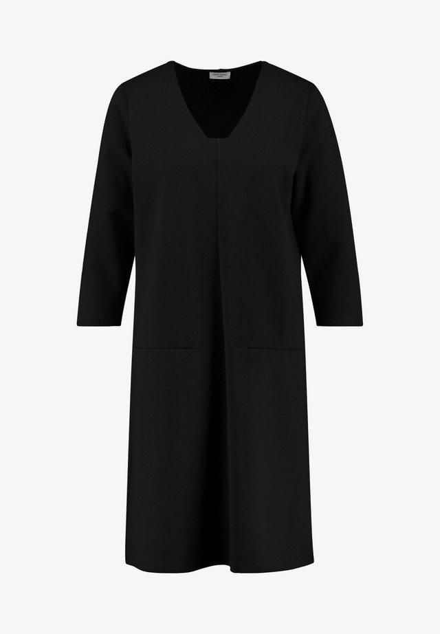 Ausgestellt - Jerseykleid - schwarz