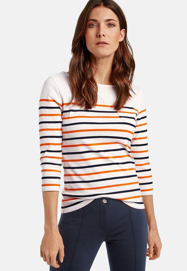 T-shirt à manches longues - red/orange/blue