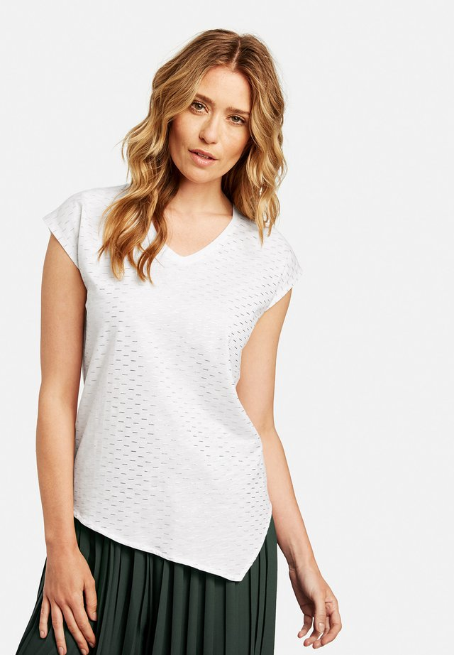MIT LINEDESSIN - T-Shirt print - off-white