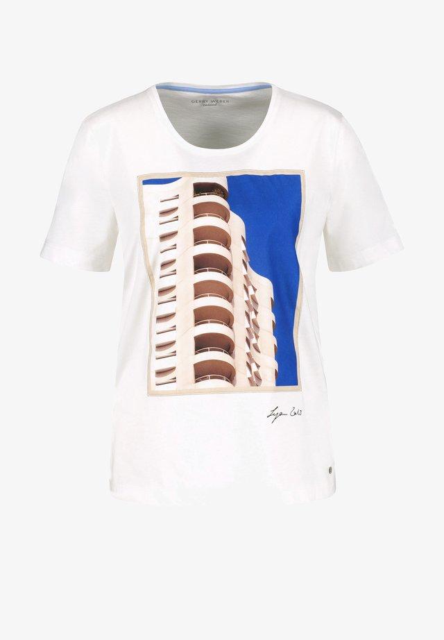 FRONTDRUCK - T-shirt imprimé - off-white