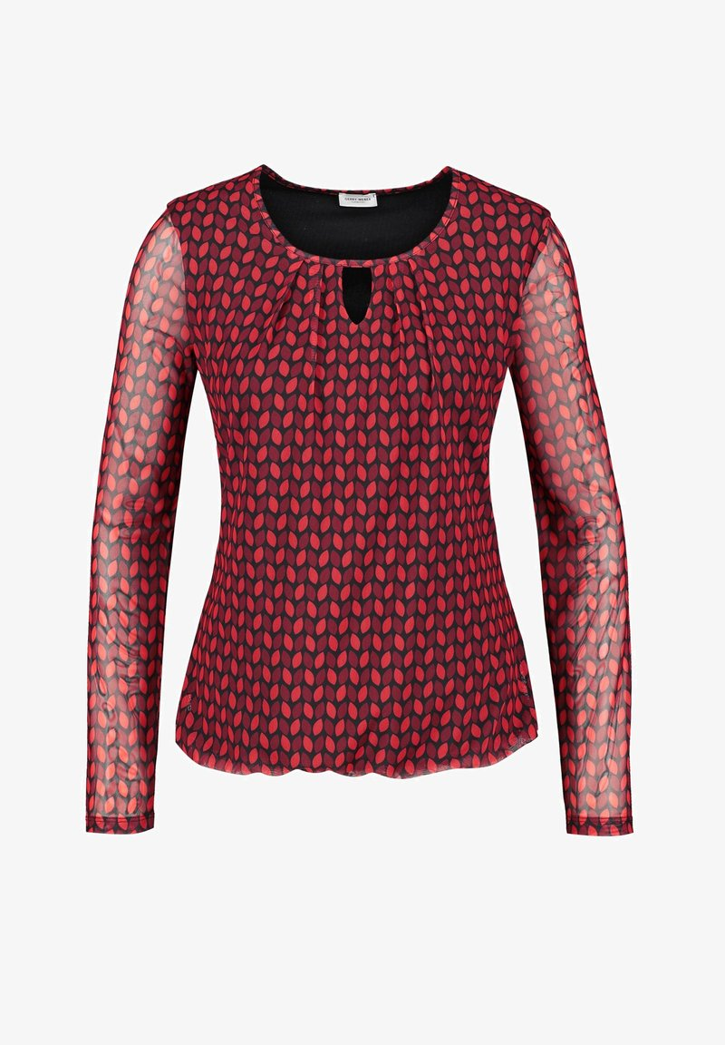 Gerry Weber - MIT ALLOVERMUSTER - Blouse - red