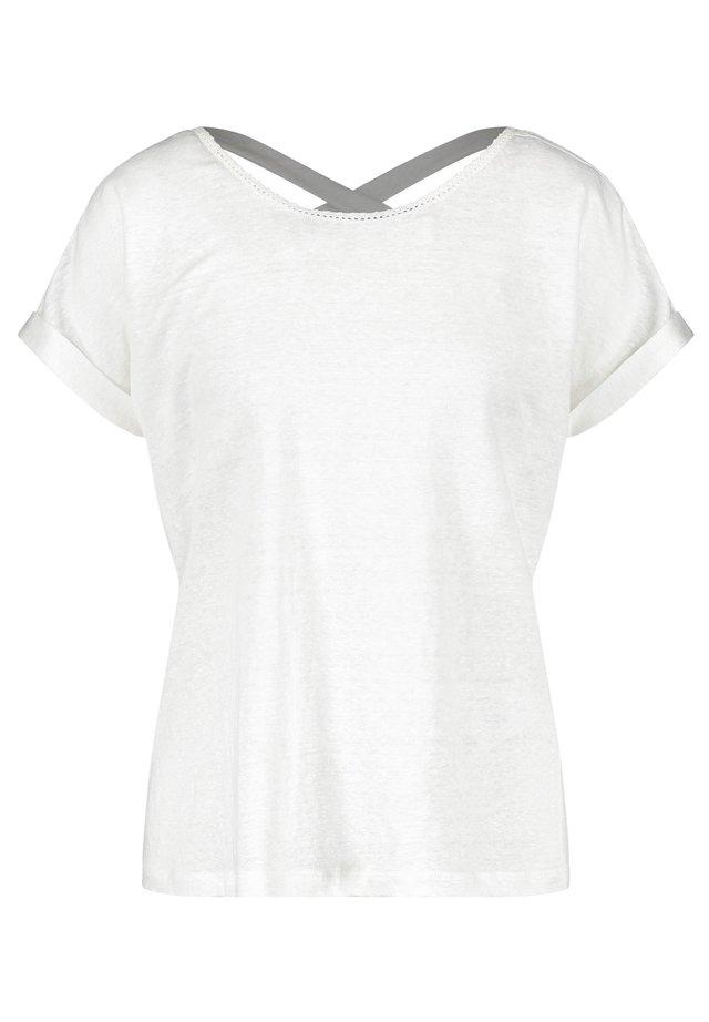 MIT ZIERBAND - Blouse - off-white
