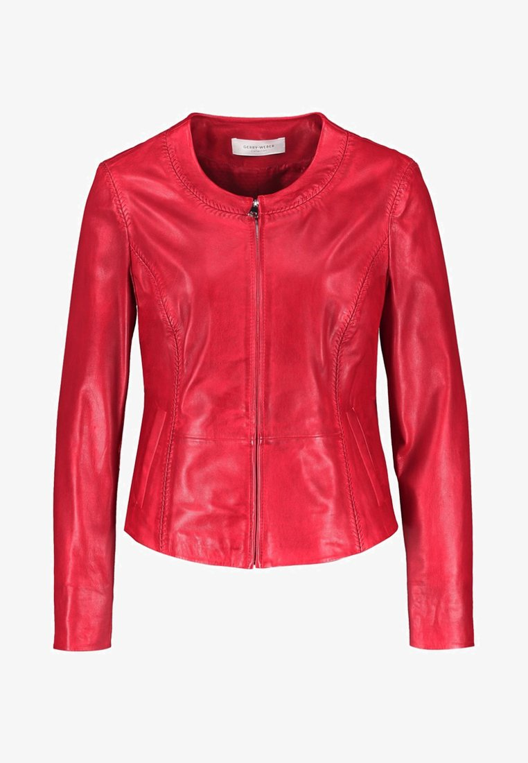 Gerry Weber - Leather jacket - red
