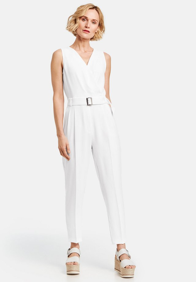 Jumpsuit - off-white