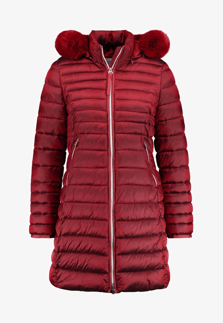 Gerry Weber - MIT QUERSTEPP - Winter coat - red